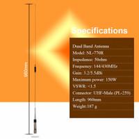 Antena RIG HT NAGOYA NL-770R Dual-Band UHF/VHF 144/430MHz 150W High Ga