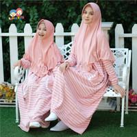 Baju Muslim Gamis Couple Ibu Anak Raggakids RG 29