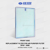 Replacement Filter for Air Purifier Surefilter SFAP 0088(SFP 0088HEPA)