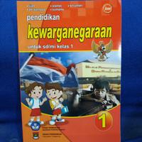 Buku pendidikan dan kewarganegaraan untuk SD kelas 1 bse