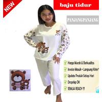 Piyama PP Import - Piyama Lengan Panjang - Baju Tidur Remaja Dewasa