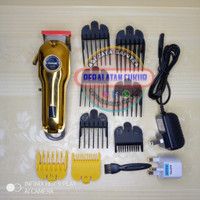 Alat cukur rambut barbershop cordless clipper alat cukur tanpa kabel