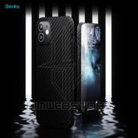 BENKS Casing Case Aramid Fiber Iphone 12 Mini Pro Max Bukan Pitaka