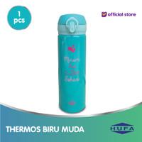 Thermos Minum 2 liter Air-Biru Muda