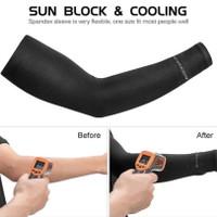 Manset / Arm Sleeve Pria/Wanita Rockbros ANTI UV Original