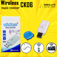 USB DONGLE AUDIO MUSIC RECEIVER MP3 WITH MIC AUX BLUETOOTH GROSIR