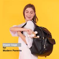 Tas bayi ransel modis diaper bag buccubag blackpack series