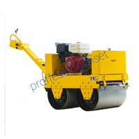 Vibrator road roller walk ( baby roller double drum ) TSUZUMI HONDA