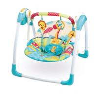 Baby Swing Mastela Deluxe Portable Ayunan Otomatis Bayi Murah - Giraffe - Hijau