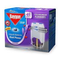 Obat Nyamuk Cair Baygon Electric Dual Power Set Lavender 33ml