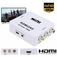 HDMI TO RCA AV / CVBS ADAPTOR 1080P MINI HDMI2AV