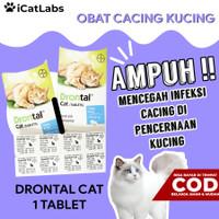 Drontal Cat Vitamin Obat Cacing Kucing Atasi Infeksi Cacing Pencernaan