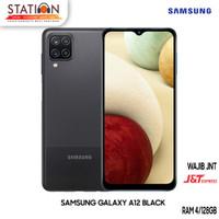 SAMSUNG GALAXY A12 BLACK RAM 4/128GB (GARANSI RESMI)
