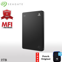 Seagate Game Drive for PS4 HDD / Hardisk Eksternal 2TB USB3.0 + Pouch