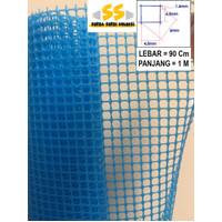 Kawat Jaring Plastik HDPE kotak 6 mm