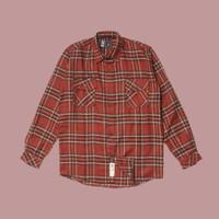 Kemeja Flanel Lengan Panjang Monochrome LS Outburn Shirt
