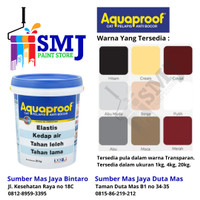 Cat Pelapis Anti Bocor Aquaproof 4kg warna Abu abu 061