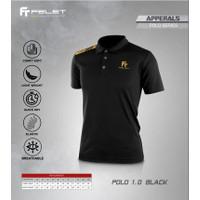 Baju Olahraga Badminton Pria / Wanita Dewasa FELET Original - POLO 1.0