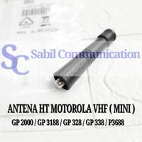 ANTENA HT MOTOROLA VHF MINI GP 328 GP 338 PLUS CP 1660 CP 1300 GP 2000