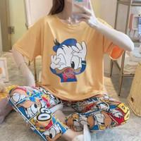 Piyama Donald Duck / Baju Tidur Donald Duck / Piyama Big Size