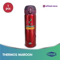 Thermos Istirahat Cukup-Maroon