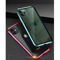 iPhone 12 Pro Max Casing Luphie Magnetic Front Back Glass Case