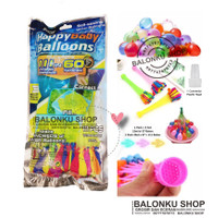Balon Air / Water Balon / Battle Water Ballon isi 111 Pcs / 3 Ikat