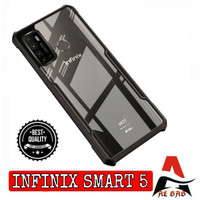 Case INFINIX SMART 5 Shockprof Armor Transparan Premium Softcase