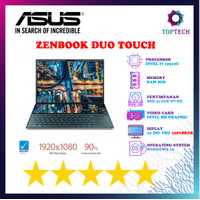 Asus Zenbook Duo Touch UX481FA - i7 10510 8GB 512ssd WINDOWS10 14FHD