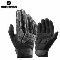 Sarung Tangan Full Finger Gloves Rockbros S210 Motor Sepeda MTB cross - L