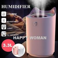 Big Air Humidifier H2O 3300ml Double Spray Ultrasonic Aroma Diffuser
