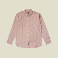 Kemeja Polos Lengan Panjang Monochrome LS Herz Oxford Shirt
