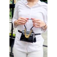 Moon bag korea | Tas Ko Moon Young korea | mini handbag croco korea