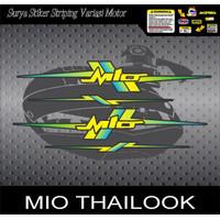 STIKER STRIPING VARIASI MIO SPORTY SMILE THAILAND LANCIP