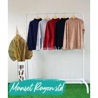 Manset Inner Kebaya Kaos/ Manset Kaos Rayon - Putih