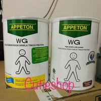 Appeton Weight Gain Adult 900 gram coklat vanila vanilla susu gemuk - Coklat