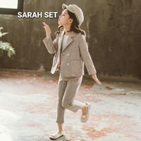 BAJUKIDDIE SARAH SET BAJU SETELAN BLAZER ANAK PEREMPUAN IMPOR KOREA