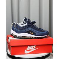 Sepatu Nike airmax 97 dark navy Sneakers Pria air max biru dongker
