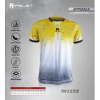 Baju Olahraga Badminton Pria / Wanita Dewasa FELET Original - RN3558