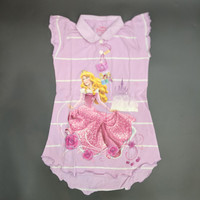 Disney Original Princess Polo Dress Baju Anak Perempuan 15050131 - 4
