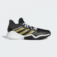 Sepatu Basket Adidas Harden Step Back Black Gold