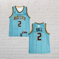 Baju Jersey Basket Swingman NBA Lamelo Ball Charlotte Hornets City Edt