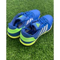 Sepatu futsal adidas original TOP SALA biru stabilo new 2021