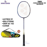New Color Full Set Raket Badminton Yonex Astrox 39 Sapphire Navy 4U G5