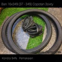 Ban Kenda 16-349 (37-349) include ban dalam Copotan 3sixty