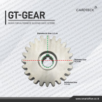 Autogate Pinion Gear Automatic Sliding Gate Metal Gear Pagar Otomatis