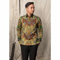Baju Batik Pria Panjang Motif Tulis Sutra ATBM Katun Premium Pesta RB1
