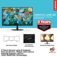Monitor LED Lenovo L24E-20 24 FHD VGA HDMI FreeSync For Komputer PC