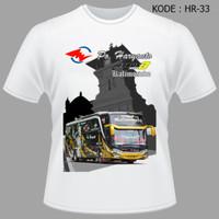 Kaos Bis Haryanto Jetbus3 Kalimosodo - Tshirt Baju Bus Bismania