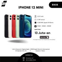 (READY) iPhone 12 MINI 64GB 128GB 256GB Black/ White/ Green/ Red/ Blue